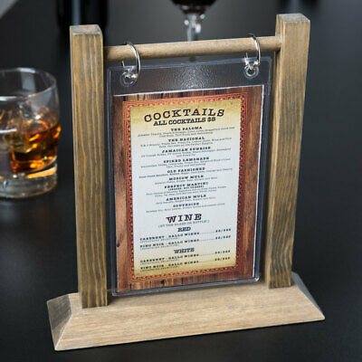 Table Tents for Restaurants w/ CUSTOM DESIGN