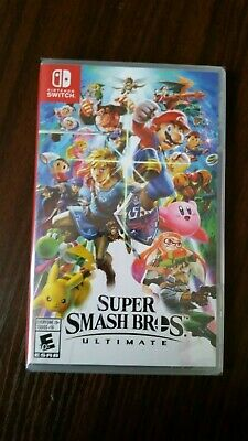 Super Smash Bros. Ultimate for Nintendo Switch **Free Shipping and No Reserve**