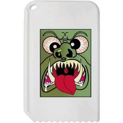 'Angry Monster Face' Plastic Ice Scraper (IC00016770)