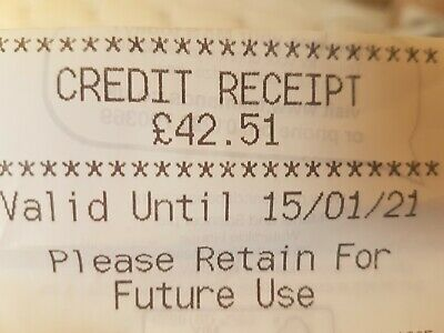 Marks and Spencer Credit Voucher  £42.51