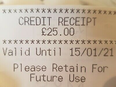 Marks And Spencer Credit Voucher  £25