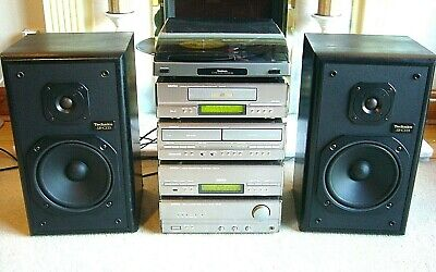 Quality DENON Hi-Fi System with Technics Speakers and Goodmans Turntable