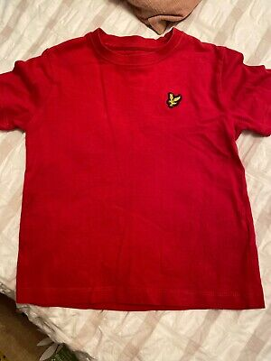 Boys Lyle And Scott T-shirt Age 3-4 Years