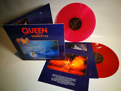 Queen - live at Wembley 86 - 2 x LP - Gatefold Cover - red Vinyl @@@@
