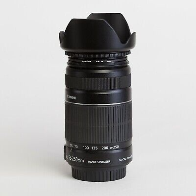 Canon EFS 55-250mm F/4-5.6 IS II Zoom Lens for EOS Cameras
