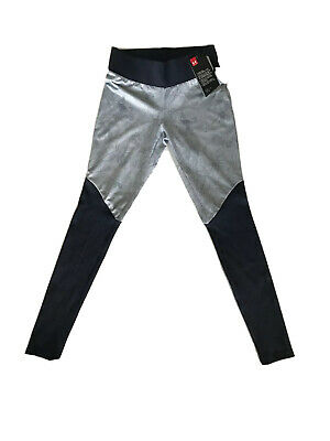 UNDER ARMOUR Women Unstoppable Ribbed Leggings Red and Blue Many Sizes NWT