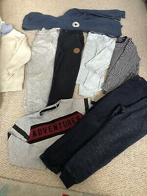 Bundle Of Boys Winter Clothes Next Converse 3-4 Playwear