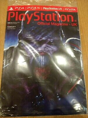Official PlayStation 4 Magazine #171 Feb 2020 RESIDENT EVIL 3 Subscriber Edition