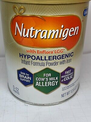 Nutramigen with Enflora LGG Infant Formula 12.6 ounce powder can 5/21 exp.