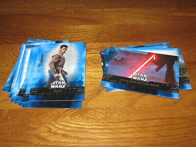 Topps Star Wars The Rise of Skywalker 19 x Blue Parallel Cards
