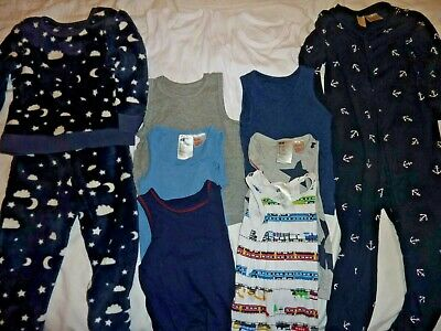 Boys' pyjamas and vests Bundle Mothercare and H&M Age 3-4 years