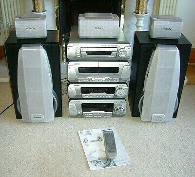 Quality Technics Hi-Fi System with 5-Disc Changer & Dolby Surround Pro-Logic
