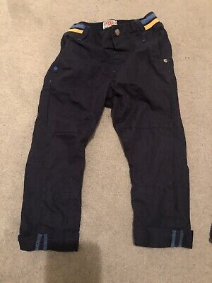 Baby Boys Next Navy Cargo Pants Trousers Chinos Size 18-24 Months 18-24m VGC
