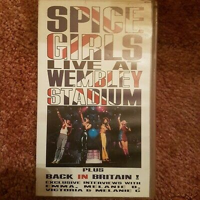 Spice Girls Live at Wembley Stadium VHS