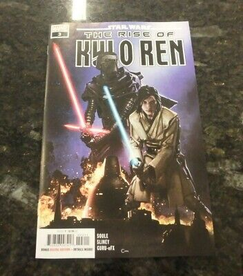 STAR WARS THE RISE OF KYLO REN #3  CLAYTON CRAIN MAIN CVR Marvel Comics 2020 NM
