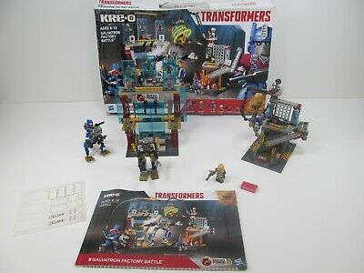 TRANSFORMERS BUMBLEBEE /& AUTOBOT JAZZ KREO 179 PCS BUILDING TOY SHIPS PRIORITY