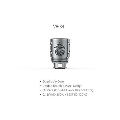 Pack of 3  V8-X4 Replacement Coil 0.15ohm coils