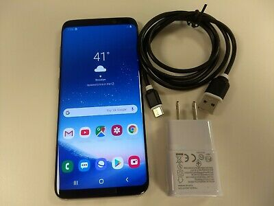 Samsung Galaxy S8 SM-G950 - 64GB - Arctic Silver, Unlocked, Very Good