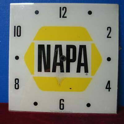 Vintage Pam Clock Advertising Dial NAPA
