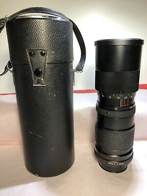 Vivitar 85-205MM 1:38 Auto Zoom Lens W/Case Made In Japan