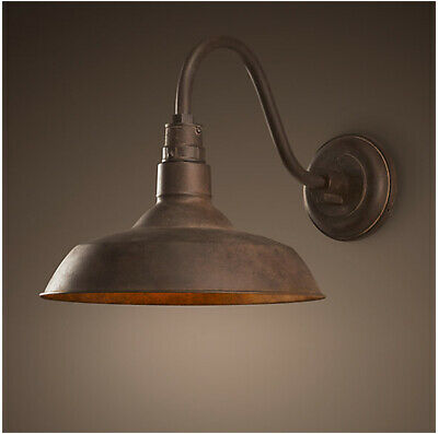Retro Nostalgia Style Adjustable Iron Jielde Wall Lamp Ceiling Light LED Bulbs