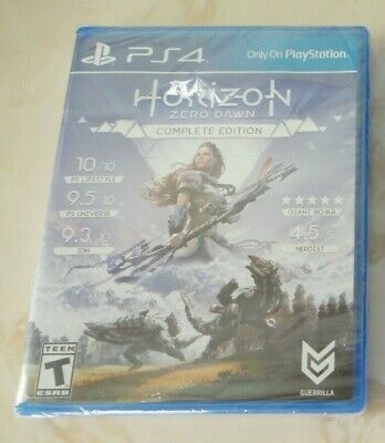 NEW HORIZON ZERO DAWN COMPLETE EDITION Game Disc for SONY PLAYSTATION 4 PS4