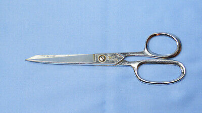 "Farr scissors cutting shears 7"" long - vintage sewing collectible"