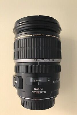 Canon EF-S 17-55mm f/2.8 IS USM Ultra Wide Angle Zoom Lens. USED-excellent