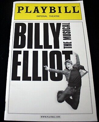 """Playbill Imperial Theatre """"Billy Elliot"""" w/2 ticket stubs for May 14, 2011"""
