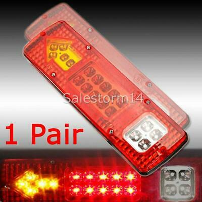 LED TRAILER TAIL LIGHTS TRUCK CARAVAN UTE BOAT LIGHT STOP INDICATOR Waterproof I