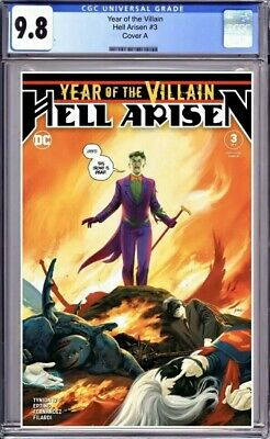 Year Of The Villain: Hell Arisen #3 Cover A CGC 9.8 1st Punchline Presale