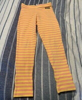 Matilda Jane Youth Sz 8 Yellow And Pink Leggings