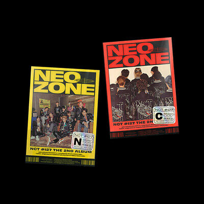 NCT 127 [ Neo Zone ] 2nd Album 3 Ver Photobook Photocard Poster Tracking Sealed