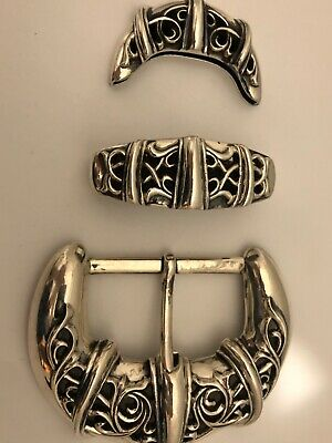 Chrome Hearts authentic sterling silver Belt buckle