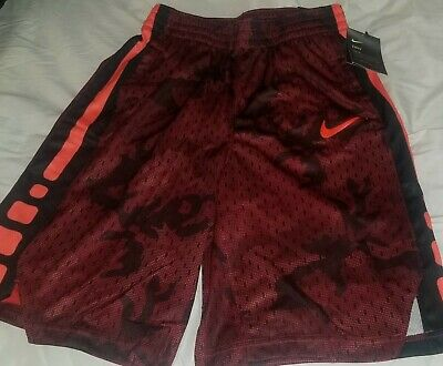 (1) Nike Boys Red DriFit Basketball Shorts in 3 diff. sizes Small, Large or XL