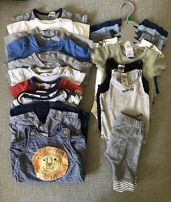 19 Piece Baby Boy Bundle - 000 - Hux Baby, Seed, Bonds, INCLUDES POSTAGE