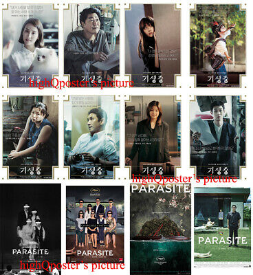 12x PARASITE Oscar movie FRIDGE MAGNET SET Bong Joon Ho Korean film poster photo