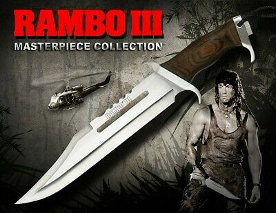 Rambo III réplique 1/1couteau Masterpiece Collection Standard Edition 46cm preco