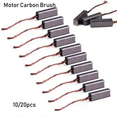 Hand Tools Electric Motor Brush Replacement Carbon Brushes Wire Leads Generator