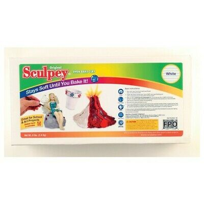 Polyform Products Company S8 Sculpey White 8Lb