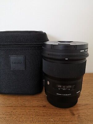 Sigma 24mm F/1.4 DG HSM Art Lens for Canon EF Used, perfect condition