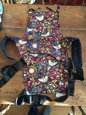 Connecta Baby Carrier - Birds of Norway print
