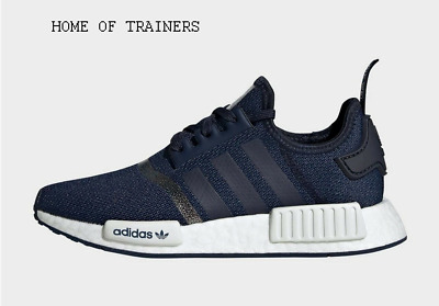 Adidas NMD_R1 Blue Kids Boys Girls Trainers All Sizes