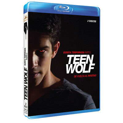 Pelicula Bluray Serie Tv Teen Wolf Temporada 5 Parte 2 Precintada