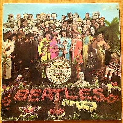 Beatles Sgt. Peppers Lonely Hearts Club Band - FIRST EDITION
