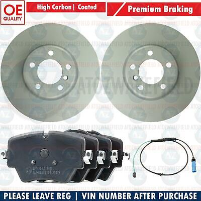 FOR BMW 5 SERIES 520d G30 G31 F90 FRONT BRAKE DISCS PADS WEAR WIRE SENSOR 330mm