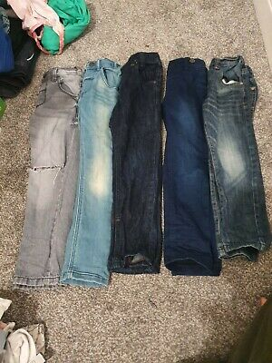 Boys jeans bundle. 10 pairs of jeans! 9x Next Jeans & 1x George jeans. 4-5 years