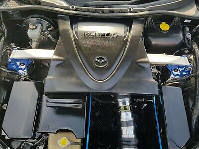 Rx8 Aem Induction Kit Intake Air Box Scoop + surround