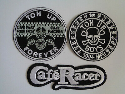 Sew On Mechanics Overalls Patches Ace Cafe Racer Motorcycle Patch Iron