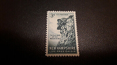 #1068 3c Old Man of the Mountain 1955 MNH ***SINGLE STAMP***